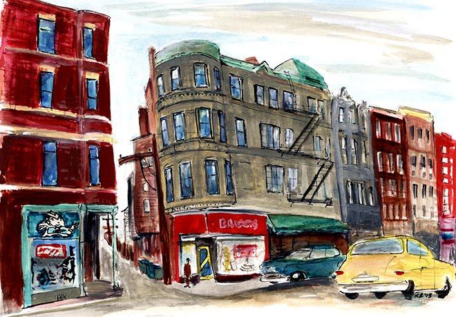 18th street corner
