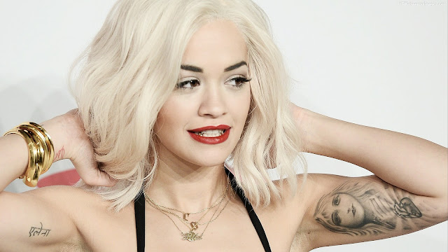 "Rita Ora cantó ""I Will Never Let You Down"" y ""Body On Me"" en los Bambi Awards 2015."