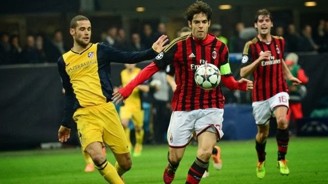AC Milan vs Atletico Madrid 0-1 Champions League