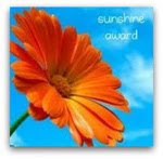 The SUNSHINE AWARD.