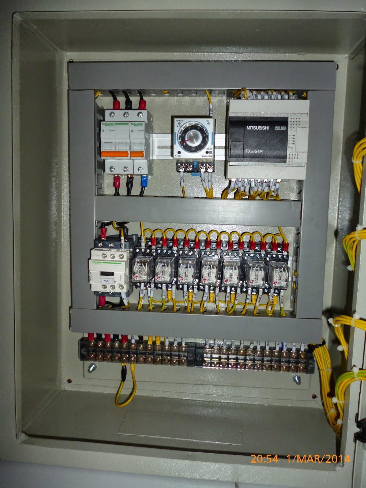 wiring panel kontrol listrik wire center u2022 rh jadecloud co Gardu Listrik Gardu Listrik
