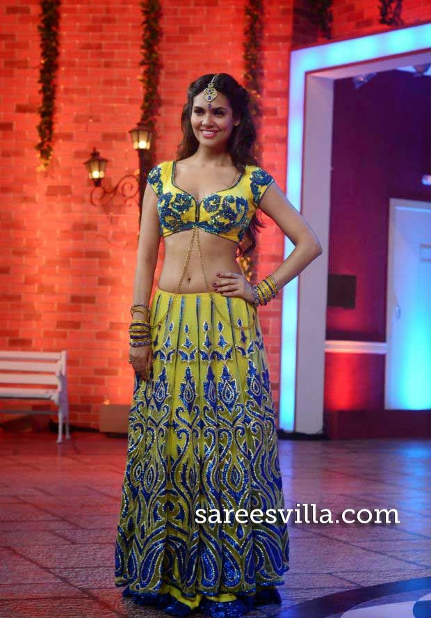 Esha Gupta on the set of Hasee House