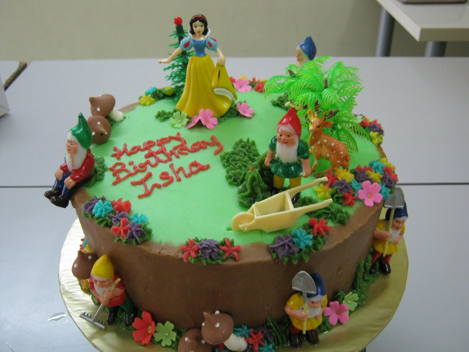 Creative Baking Snow White And The Seven Dwarfs