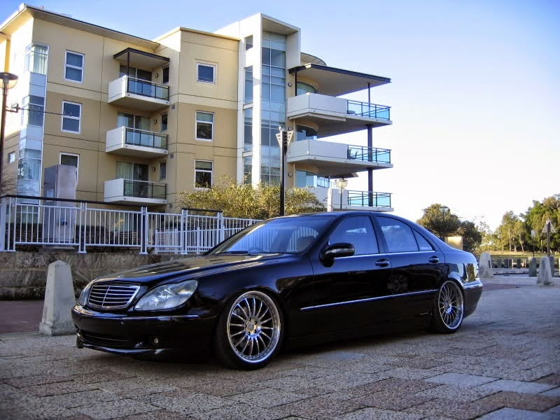 mercedes benz s320 w220 vip style benztuning. Black Bedroom Furniture Sets. Home Design Ideas