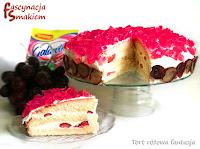 http://fascynacjasmakiem.blogspot.com/2013/05/tort-rozowa-fantazja.html