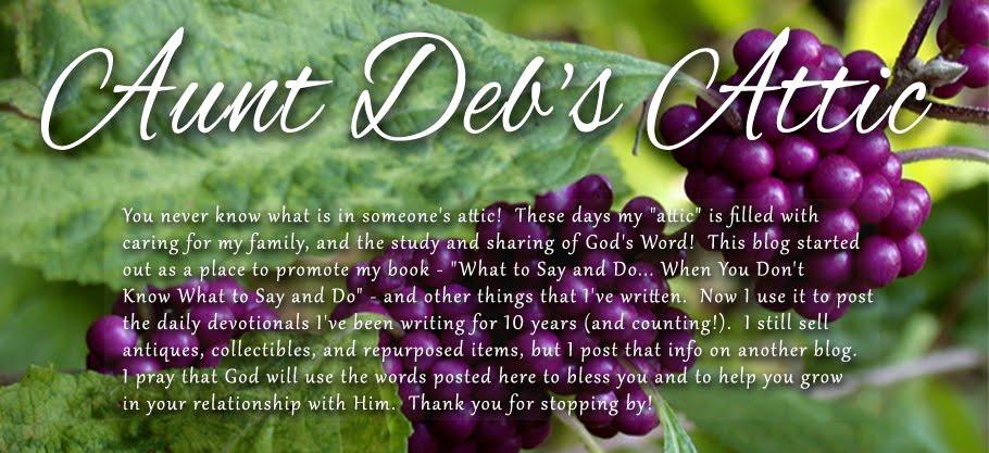 Aunt Deb's Attic