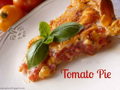 Tomato Pie from Ms.enPlace