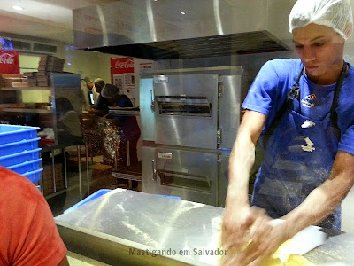 Domino's Pizza: Cozinha
