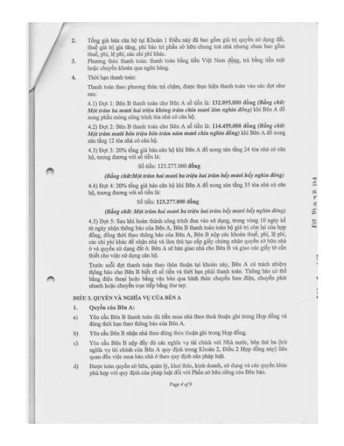 Trang 4 Chung cư hh3 linh đàm