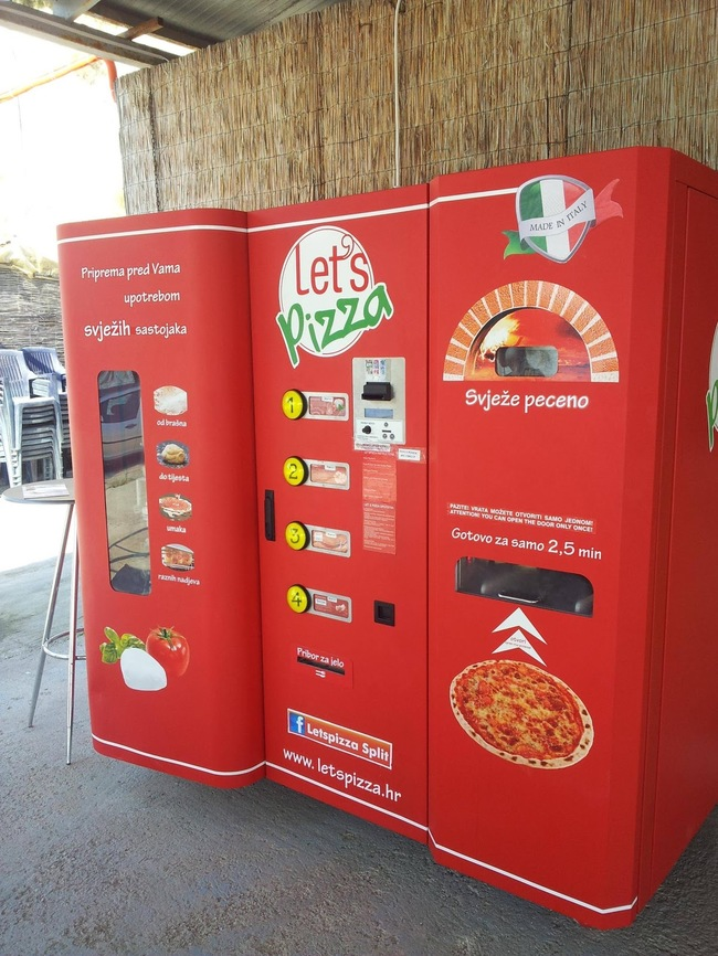 30 Insanely Clever Innovations That Need To Be Everywhere Already - Fresh pizza vending machines.