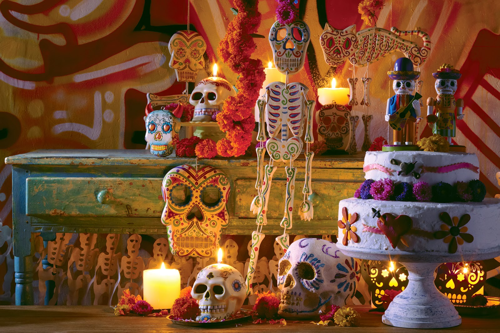 Allegra Hsiao styles Mexican holiday day of the dead