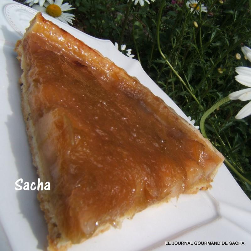 le journal gourmand de sacha tarte 224 la compot 233 e de rhubarbe et poires sur une p 226 te sabl 233 e au