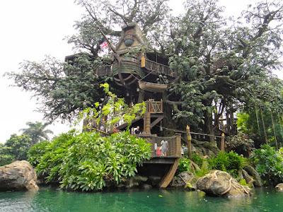 Tarzan's Treehouse at Hong Kong Disneyland Resort