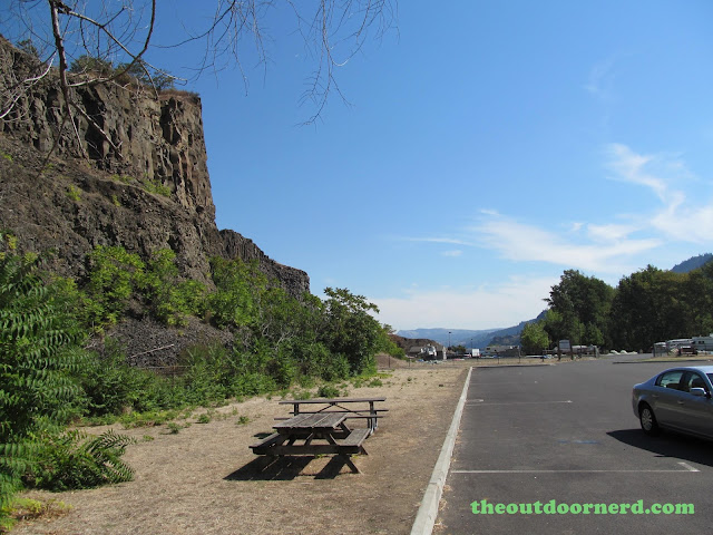 Columbia Gorge View Rest Stop 6
