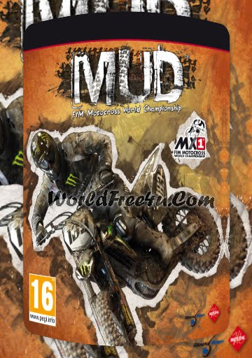 Cover Of MUD FIM Motocross World Championship Full Latest Version PC Game Free Download Mediafire Links At Downloadingzoo.Com