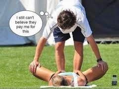 smešna slika: ne mogu da verujem da ga plaćaju zbog toga