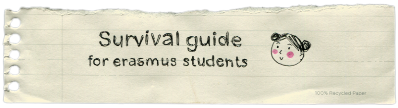 Survival guide for erasmus students