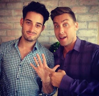 Lance Bass proposes to his Boyfriend