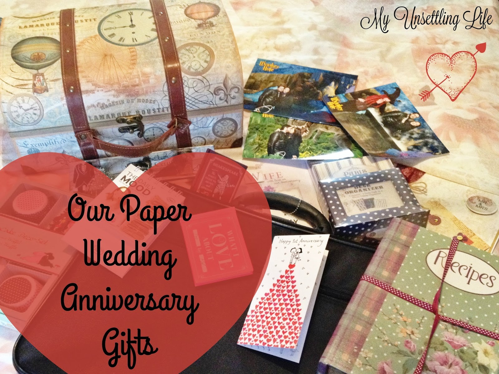 Paper Gifts For Wedding Anniversary: Our Paper Wedding Anniversary Gifts