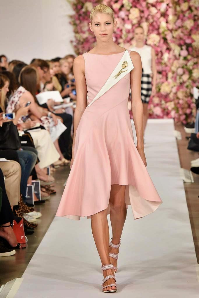 Modas y Modelos: Elegantes vestidos de Oscar de la Renta para la ...