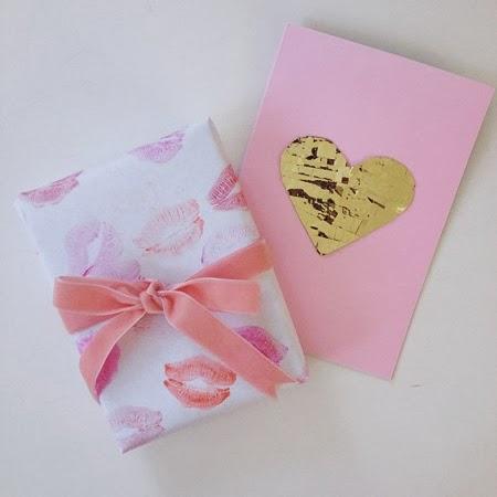 Опаковка на подарък за Свети Валентин