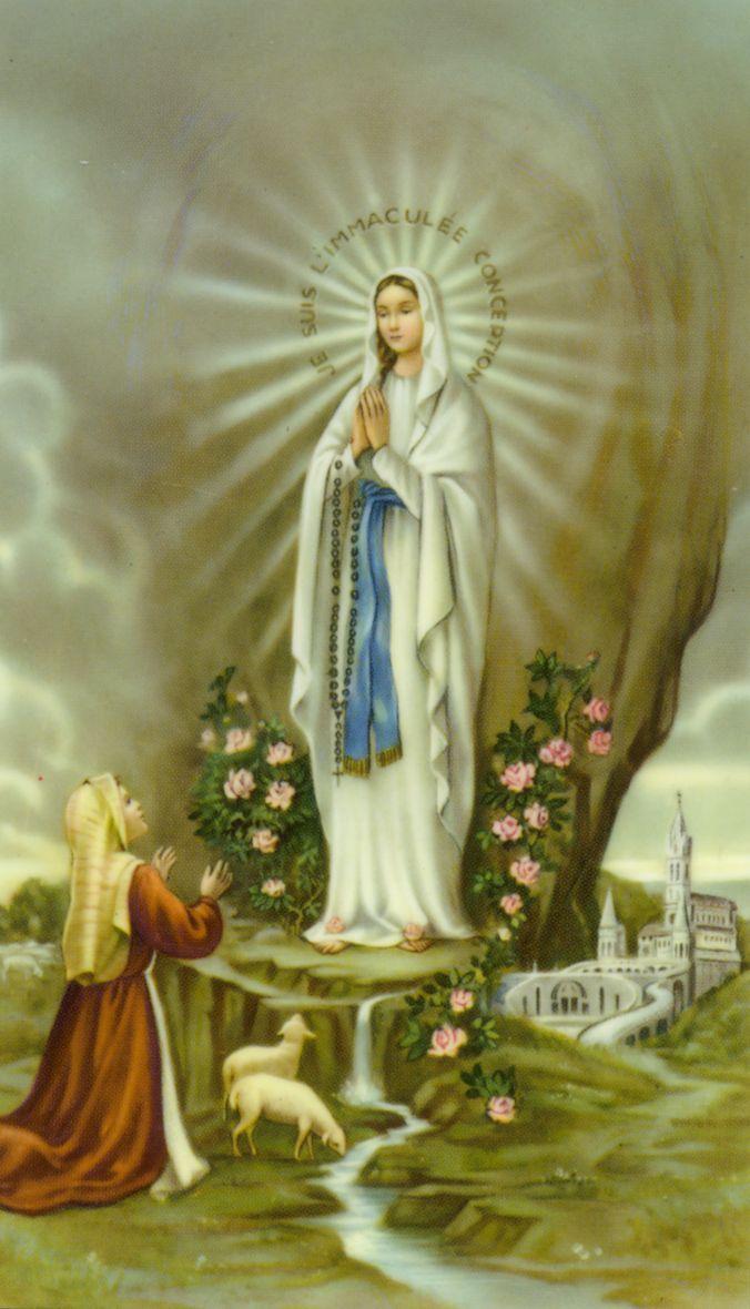 Image result for Beata Vergine Maria di Lourdes