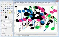 Obraz namalowany przy użyciu animowanego pędzla - zrzut