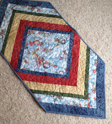 My Sewing Room: Snowman runner is done