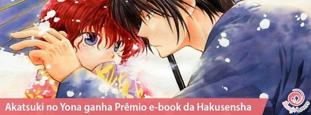 Mangá Shoujo Akatsuki no Yona ganha Prêmio e-book da Hakusensha
