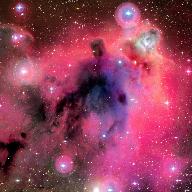 Stunning view of Lynds' Dark Nebula 1622 by the CFHT