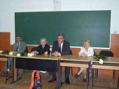 Prof.Radu Pisica, Ion Manea, Mariana Polgar, Gabriela Lazarescu, Balcescu 1986