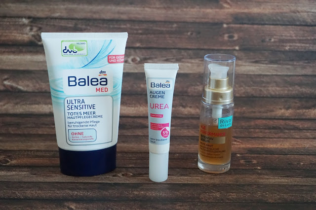 Rival de Loop - Age Performance Serum Balea med - Ultra Sensitive Totes Meer Hautpflegecreme  Balea - Urea Augencreme