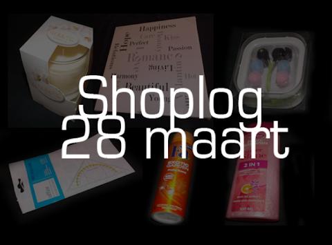 Shoplog: 28 maart  - Action, OP=OP, Kruidvat