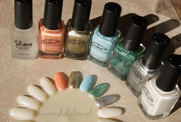 Color Club | Seria SEA SALT | Kolekcja Lakierów
