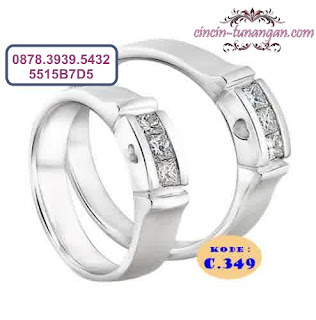 cincin pernikahan couple no 349