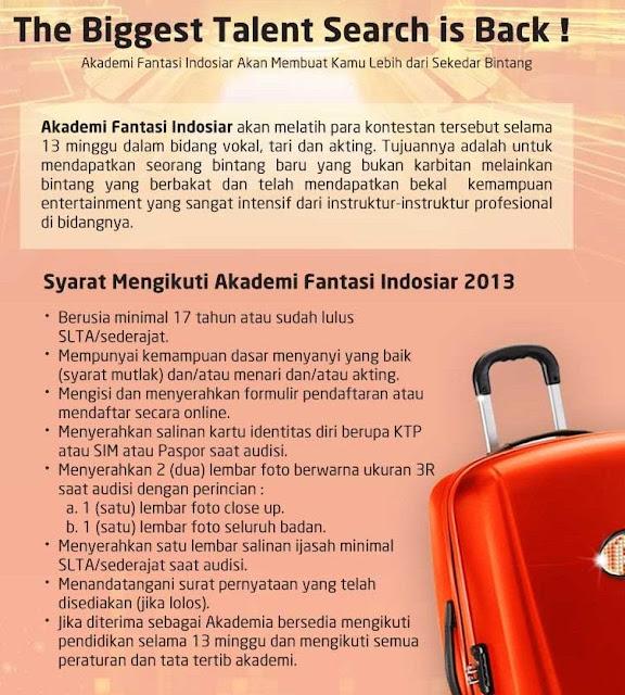 Akademi Fantasi Indosiar AFI 2013
