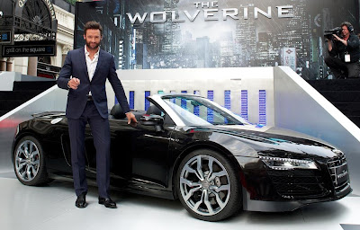 Hugh Jackman, The Wolverine, Audi A8 Automobile