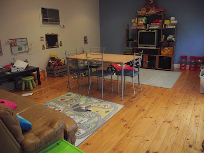 homeschooling room