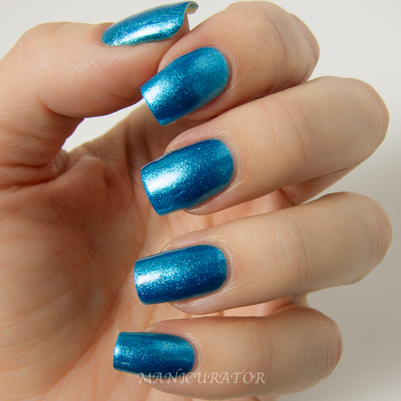 Travel In Color Is An Odd Name For A Sheer Nail Polish But It Does Have Lovely Blue And Pink Shimmer To I Layered Over Opi Do You Lilac