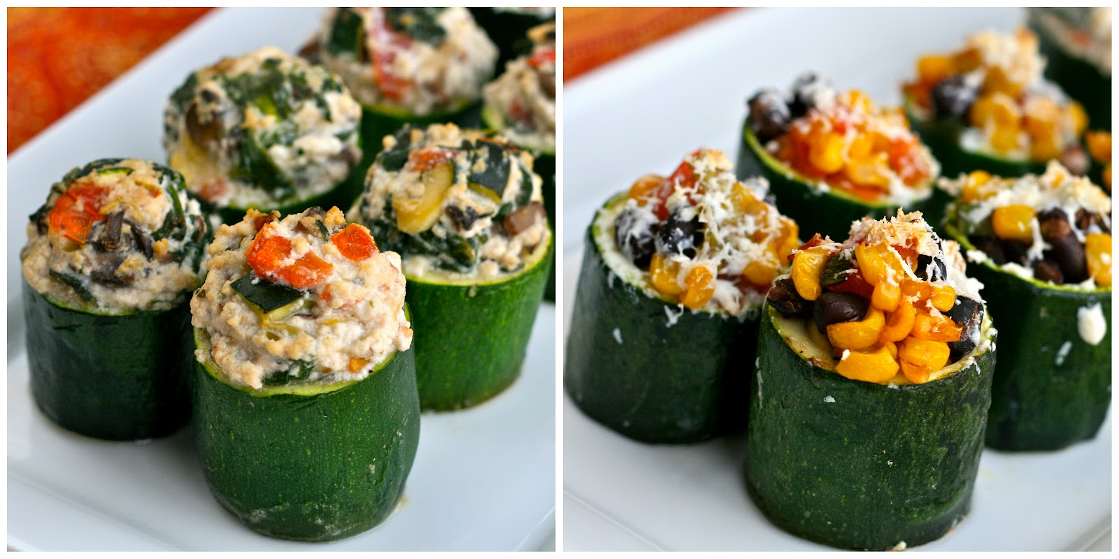 just pop them in the oven for about 25-30 minutes, or until zucchini ...