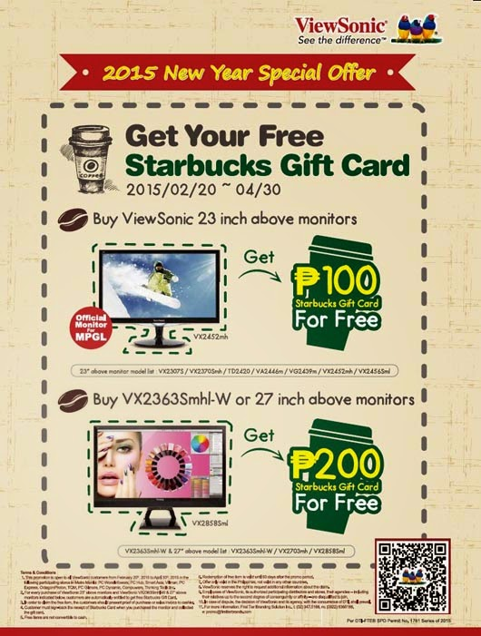 Viewsonic 2015 New Year Special Offer