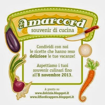 "Contest : ""Amarcord - souvenir di cucina"""