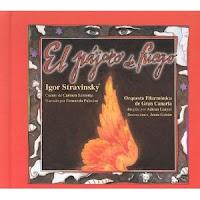El pájaro de fuego: (cuento musical) Música de Igor Stravinsky; cuento de Carmen Santonja; ilustraciones de Luis de Horna. Vitoria-Gasteiz. AgrupArte, 1998.