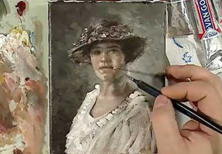 Portrait Oil Painting Demonstration By Mr Picment Video Lessons Of