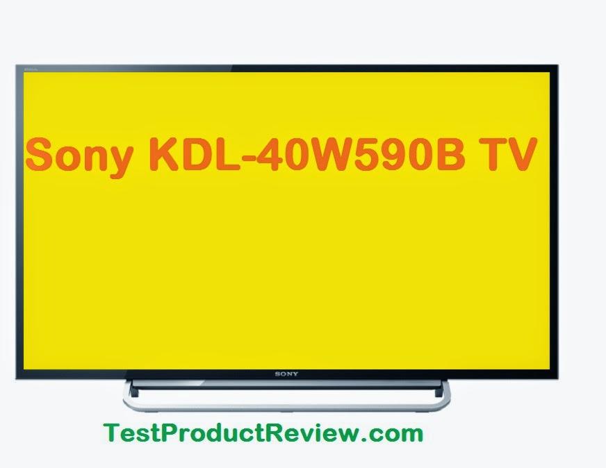 Sony KDL-40W590B specs
