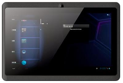 Tablet 7WG, permite conexión wifi y 3G