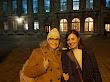 Com Marie Frisson (Membro do grupo Francis Ponge).