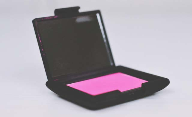 Bright pink NARS blusher