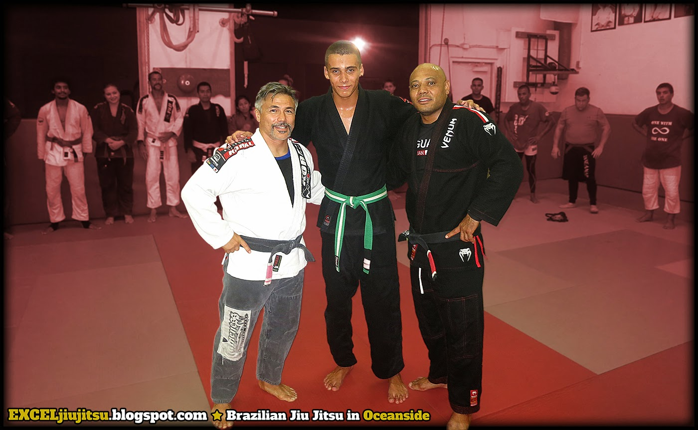 BJJ Brazilian Jiu Jitsu stripe promotion in Oceanside Ca