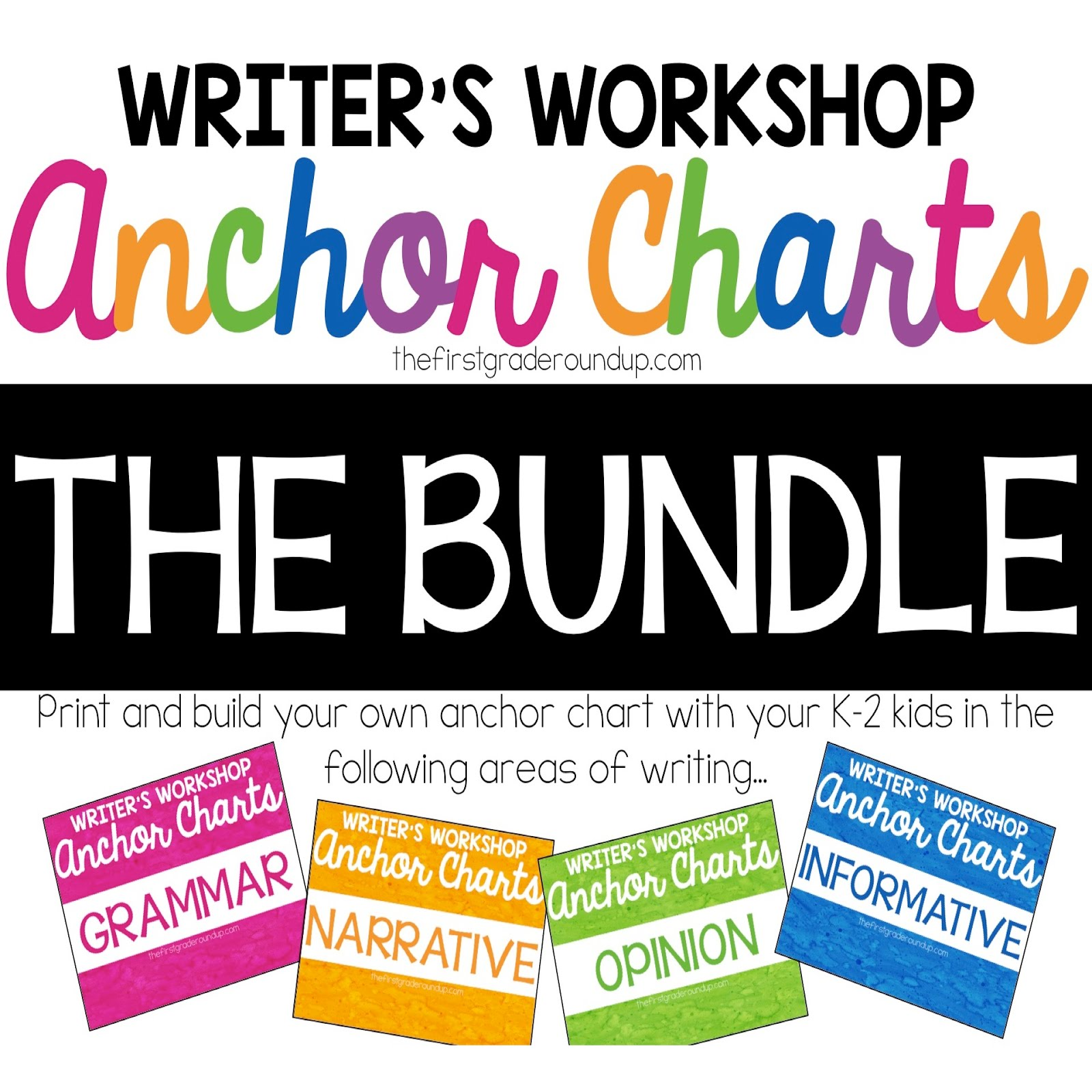 writing charts bundle